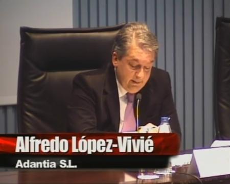 Alfredo López-Vivié Palencia, avogado, consultor de Adantia S.L. - Xornada sobre a Lei 9/2010, do 4 de novembro, de Augas de Galicia